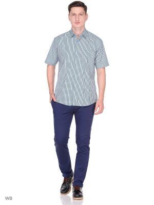 Рубашка CARAT.. Цвет: морская волна