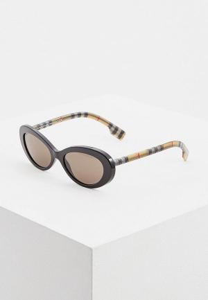 Очки солнцезащитные Burberry BE4278 3757/3. Цвет: черный