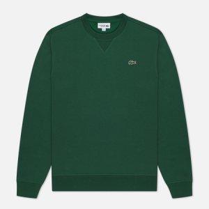 Мужская толстовка Sport Cotton Blend Fleece Lacoste. Цвет: зелёный