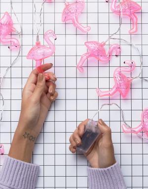 Лампочки-гирлянды в виде фламинго Fizz-Мульти Fizz Creations