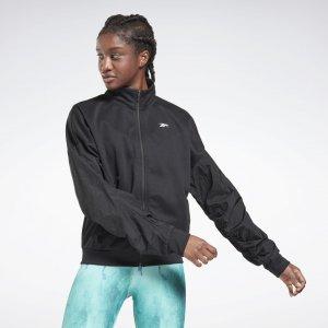 Спортивная куртка Performance Reebok. Цвет: black