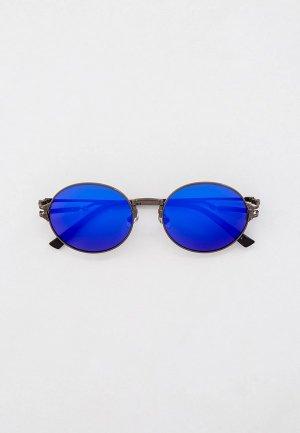 Очки солнцезащитные Havvs HV68025, с поляризованными линзами. Цвет: серый