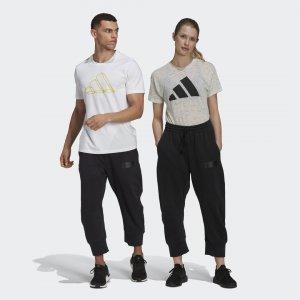 Брюки Parley Sportswear adidas. Цвет: черный