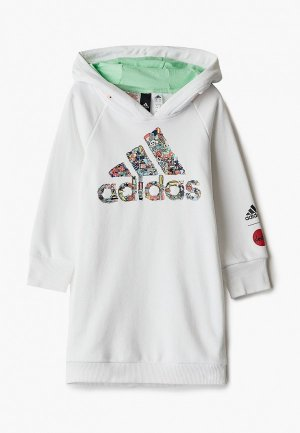 Худи adidas G ART L HD. Цвет: белый