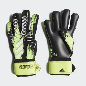 Вратарские перчатки Predator 20 League Performance adidas. Цвет: черный