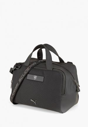 Сумка PUMA Ferrari LS Handbag. Цвет: черный