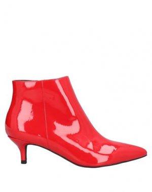 Полусапоги и высокие ботинки COLORS OF CALIFORNIA. Цвет: красный