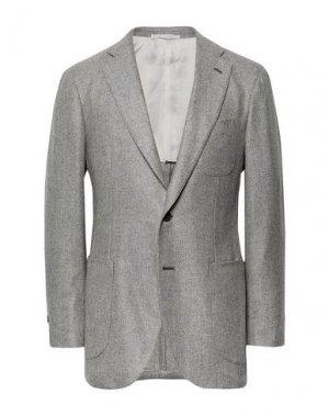 Пиджак P.JOHNSON. Цвет: светло-серый