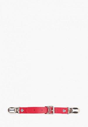 Гартер Красная Жара -подтяжка. Цвет: красный