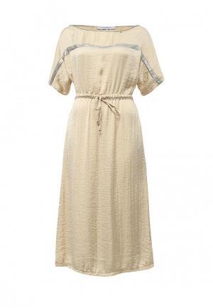 Платье Rinascimento. Цвет: золотой