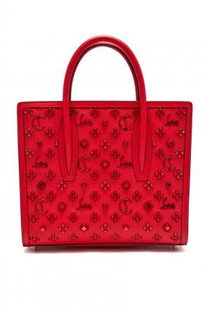 Красная мини-сумка с декором Paloma Christian Louboutin. Цвет: красный