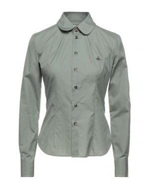 Pубашка VIVIENNE WESTWOOD. Цвет: зеленый-милитари