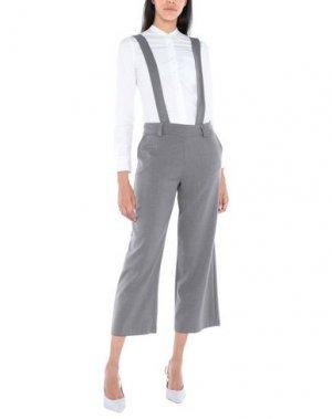 Повседневные брюки H2O ITALIA. Цвет: свинцово-серый