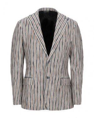 Пиджак TAKESHY KUROSAWA. Цвет: коричневый