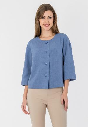 Жакет S&A Style. Цвет: голубой