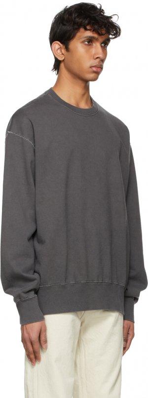 Black Giza Suvin Sweatshirt Kuro. Цвет: black