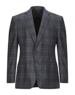 Пиджак GIEVES & HAWKES. Цвет: серый