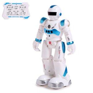Робот-игрушка радиоуправляемый iq bot gravitone, русское озвучивание, цвет синий WOOW TOYS