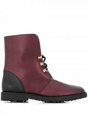 Ботинки Cuddly Hogl. Цвет: красный
