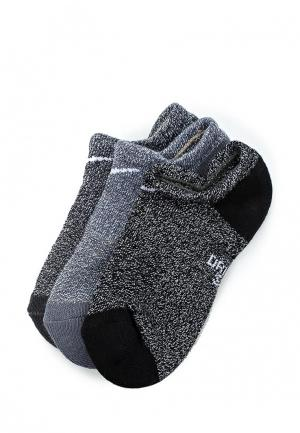 Комплект Nike Kids Performance Cushioned No-Show Training Socks (3 Pair). Цвет: серый