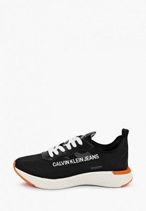 Кроссовки Calvin Klein Jeans. Цвет: черный