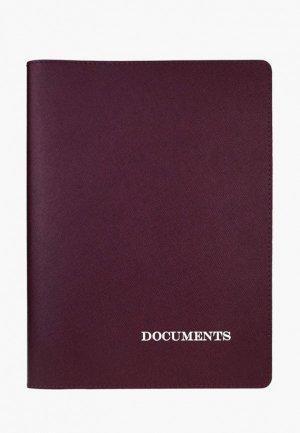 Обложка для документов BB1. Цвет: бордовый