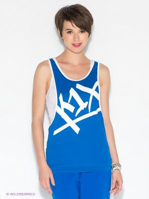 Топ K1X. Цвет: синий
