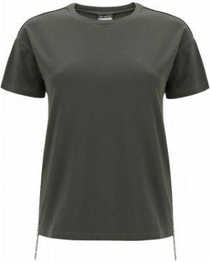 Футболка женская , размер 42-44 Freddy. Цвет: зеленый
