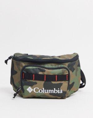 Камуфляжная сумка-кошелек на пояс -Зеленый цвет Columbia