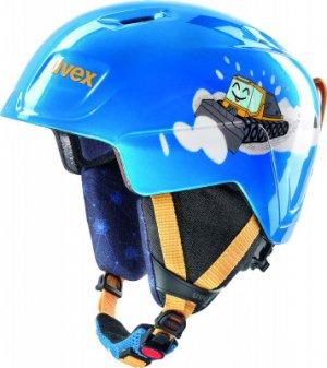 Шлем детский Manic Uvex. Цвет: синий