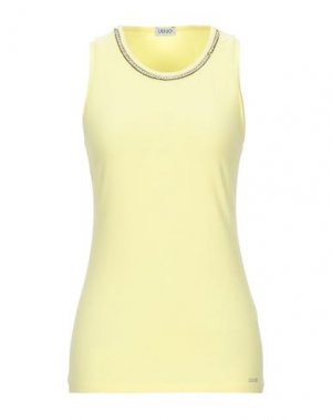Майка LIU •JO. Цвет: желтый