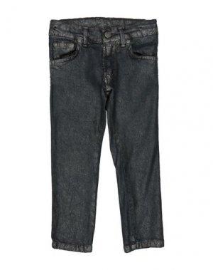 Джинсовые брюки ALLIGALLI. Цвет: стальной серый