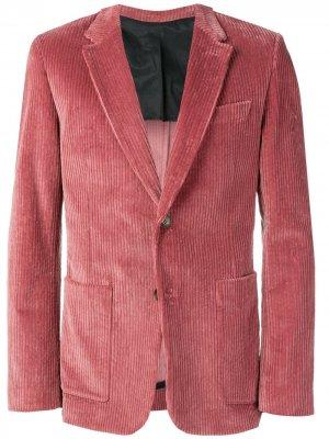 Пиджак на двух пуговицах AMI Paris. Цвет: розовый