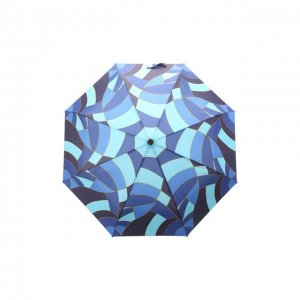Складной зонт Doppler. Цвет: синий
