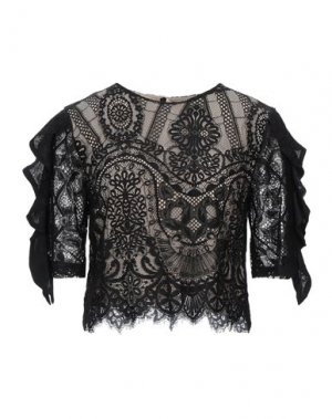 Блузка KAOS JEANS. Цвет: черный
