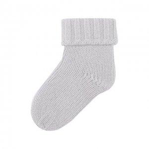 Кашемировые носки Oscar et Valentine. Цвет: синий