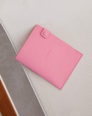 Обложка для паспорта 12STOREEZ. Цвет: розовый