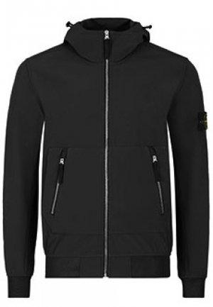 Куртка STONE ISLAND. Цвет: черный