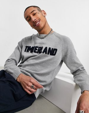 Джемпер с логотипом -Серый Timberland