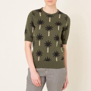 Пуловер OASIS BLUNE. Цвет: хаки
