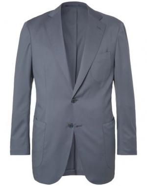 Пиджак P.JOHNSON. Цвет: свинцово-серый