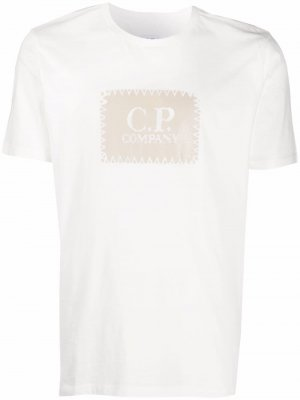 Logo-print T-shirt C.P. Company. Цвет: белый