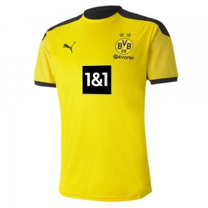 Футболка BVB Training Jersey PUMA. Цвет: желтый