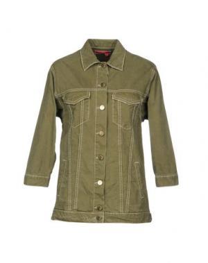 Куртка MANILA GRACE DENIM. Цвет: зеленый-милитари