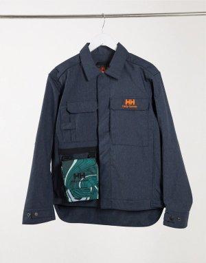 Темно-синяя джинсовая куртка в стиле унисекс Heritage-Темно-синий Helly Hansen