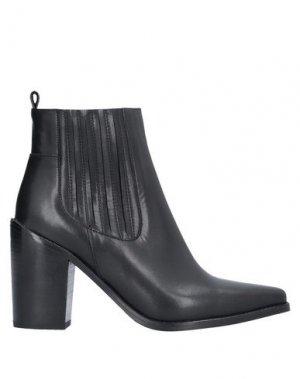 Полусапоги и высокие ботинки DIBRERA BY PAOLO ZANOLI. Цвет: черный