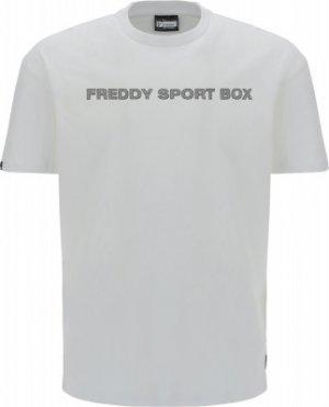 Футболка мужская , размер 48-50 Freddy. Цвет: белый