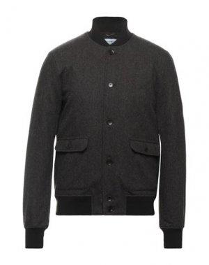 Куртка EXIBIT. Цвет: темно-коричневый