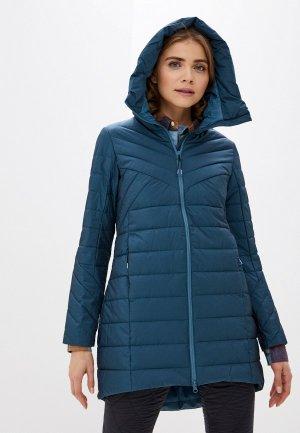Куртка утепленная Merrell. Цвет: синий