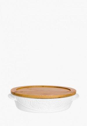 Форма для запекания Elan Gallery 29*20 см. Цвет: белый